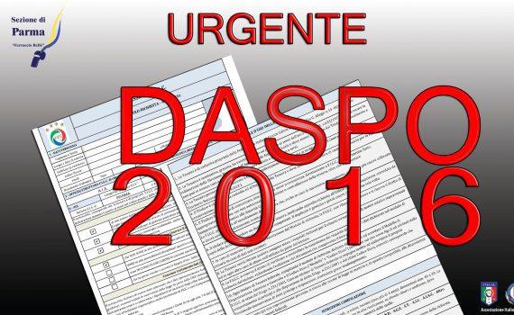 DASPO 2016