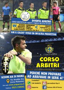 corso arbitri parma; iscriviti al corso arbitri; sezione AIA Parma; arbitro
